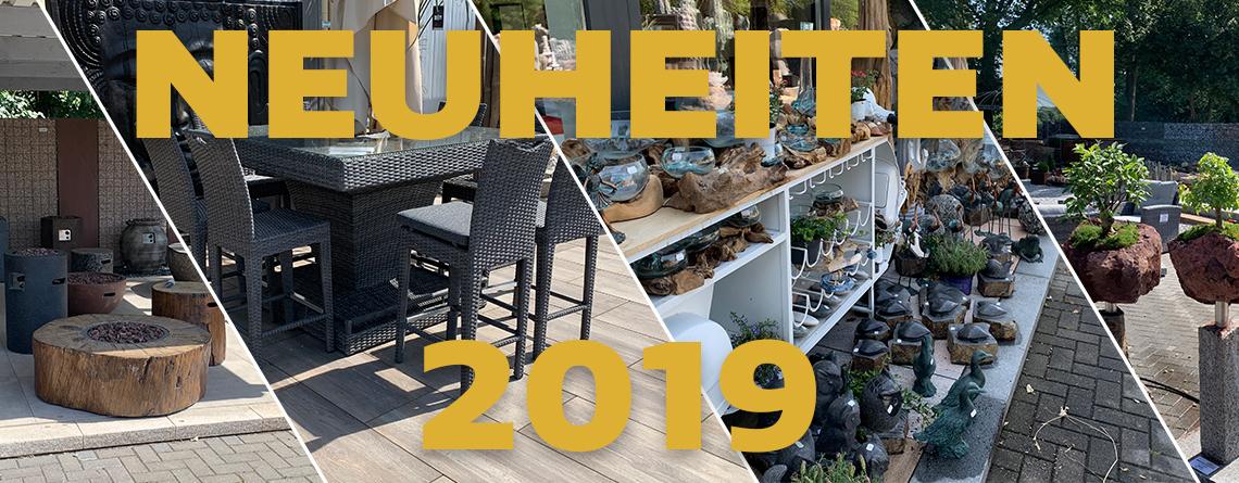 Neuheiten 2019 Slider