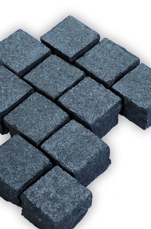 Nero Ambiente - schwarzer Pflasterstein