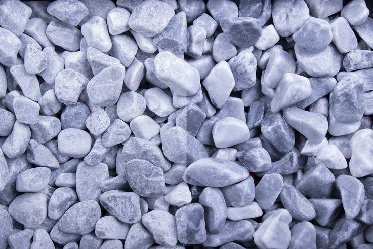 Kristall Blau 8-16 getrommelt