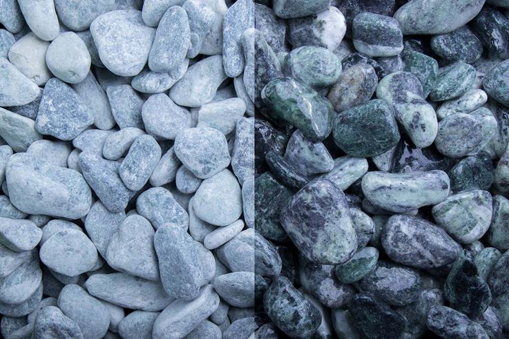 Kristall Grün 15-25 getrommelt