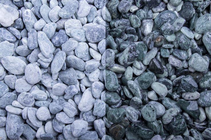Kristall Grün 7-15 getrommelt