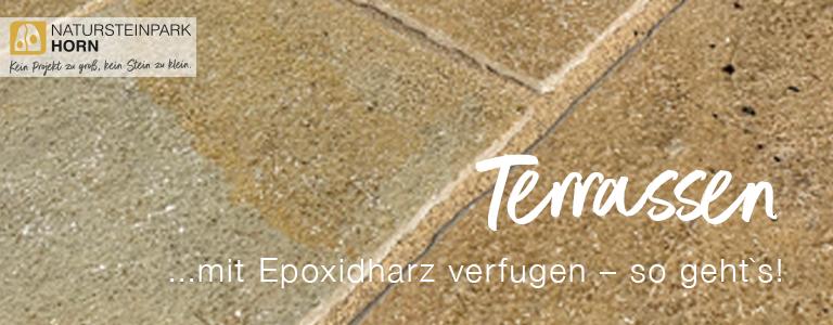 Terrassen mit Epoxidharz verfugen – so geht`s!