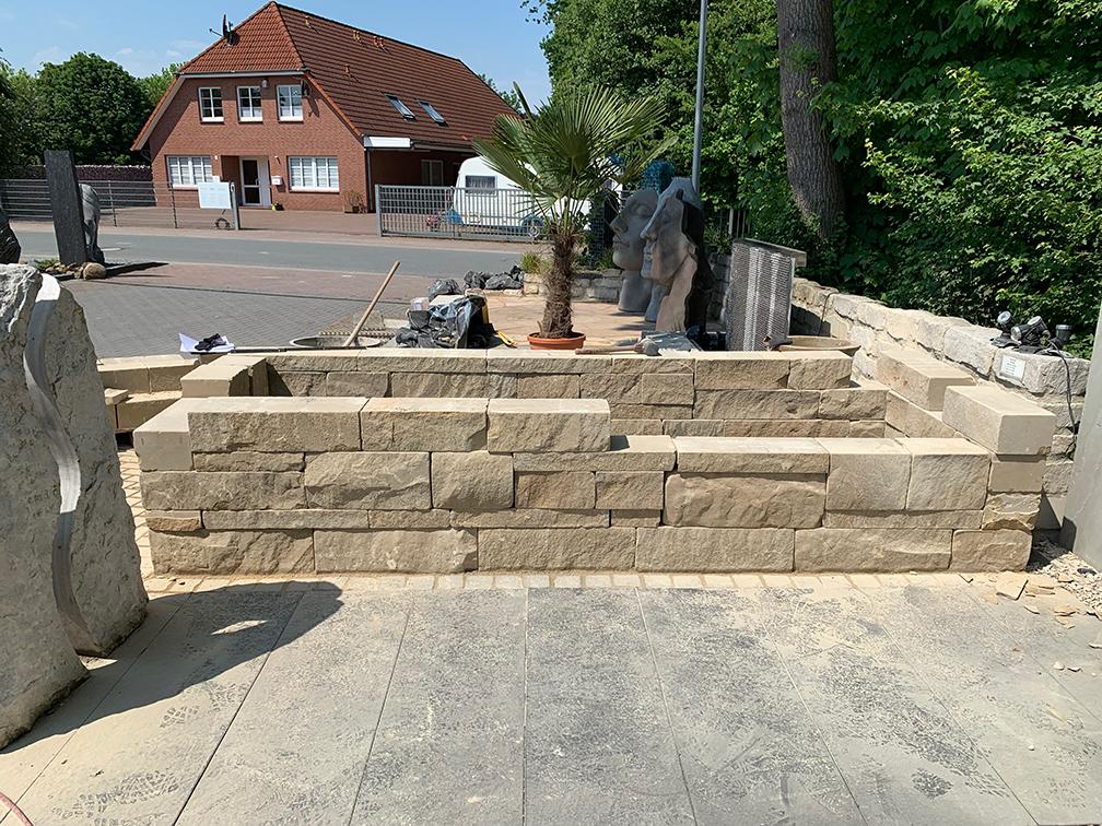 Hochbeet - Klostermauerstein 2