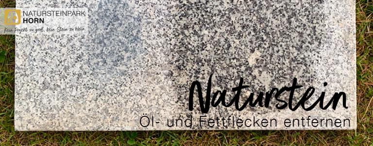 You are currently viewing Öl- und Fettflecken von Natursteinen entfernen