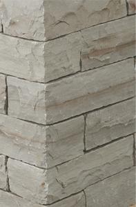 Mauersteine: Schlichtes helles grauraun