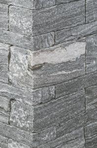 warm grau mit starken hellen strukturen, aufregender Mauerstein