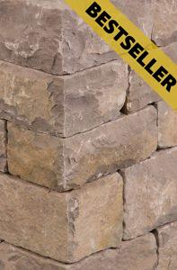Weser Sandstein: Bestseller in rotbraun