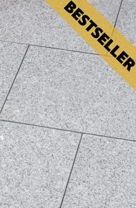 Terrassenplatte Bravo: Grau melierter Stein