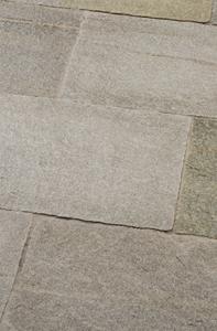 Terrassenplatte Naturstein oliv grau
