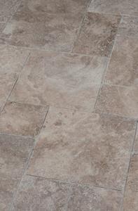Terrassenplatte bräunlich schoko marmoriert