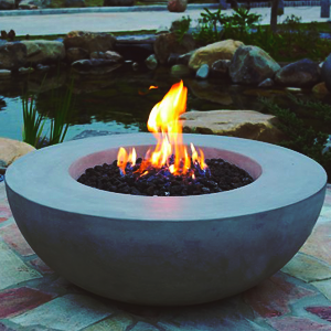 Feuerstelle für den Garten KAMINLOUNGE_ROM