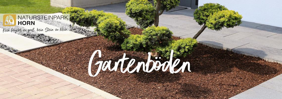 Gartenböden Header Bild: Rindenmulch