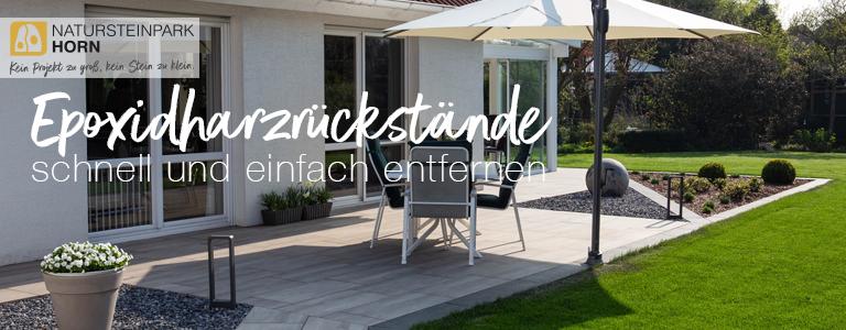 Read more about the article Terrassen von Epoxidharzrückständen befreien