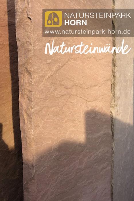 Natursteinwand Sandstein