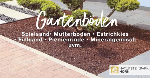 Teaser Gartenböden : Mutterboden, Rindenmulch und mehr: Klicken! :)